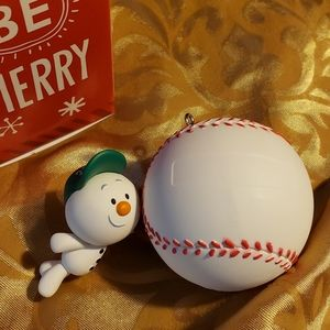 Home Run Star Keepsake ornament